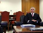Michel Temer em reunião com o indicado à presidência da Petrobras Pedro Parente
