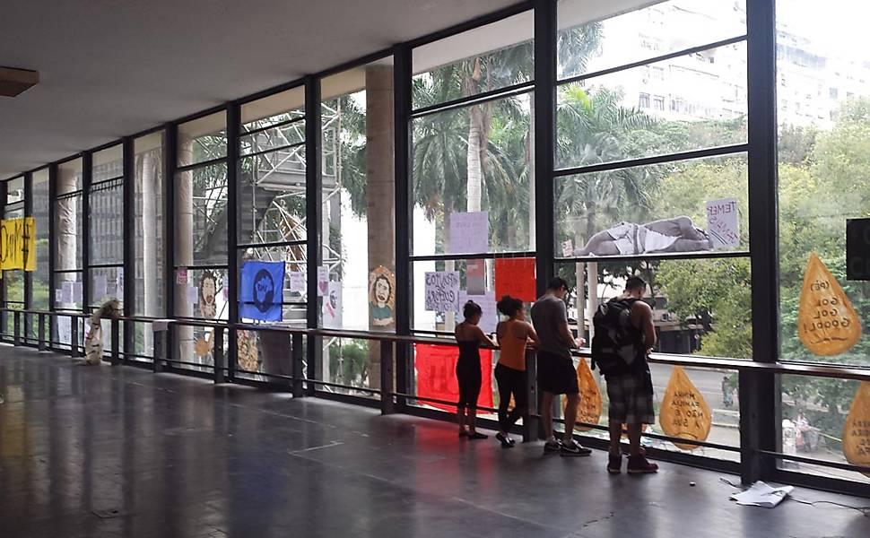 Ocupação do Palácio Capanema contra o fim do MinC
