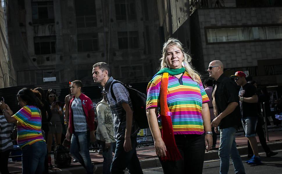 Opinião dos participantes da Parada do Orgulho LGBT