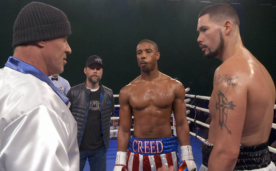 Tony Bellew talks about meeting Sylvester Stallone after landing the role of 'Pretty' Ricky Conlan in the new Rocky franchise film Creed