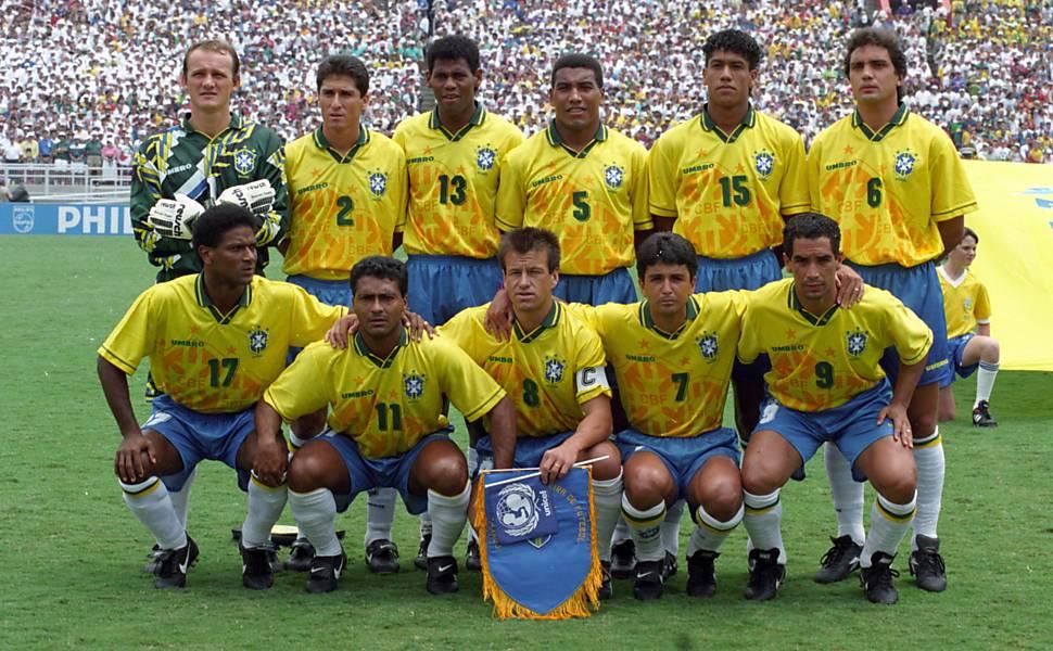 Fotos do tetracampeonato da seleção brasileira