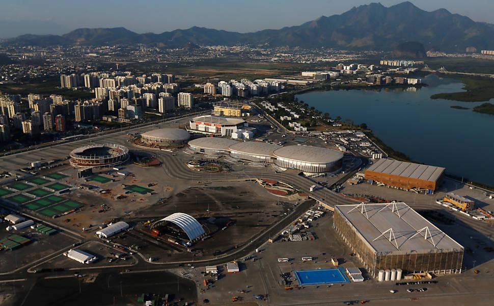 Obras dos Jogos Olímpicos do Rio
