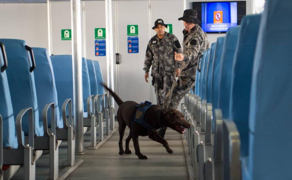 Treinamento de segurança no Rio