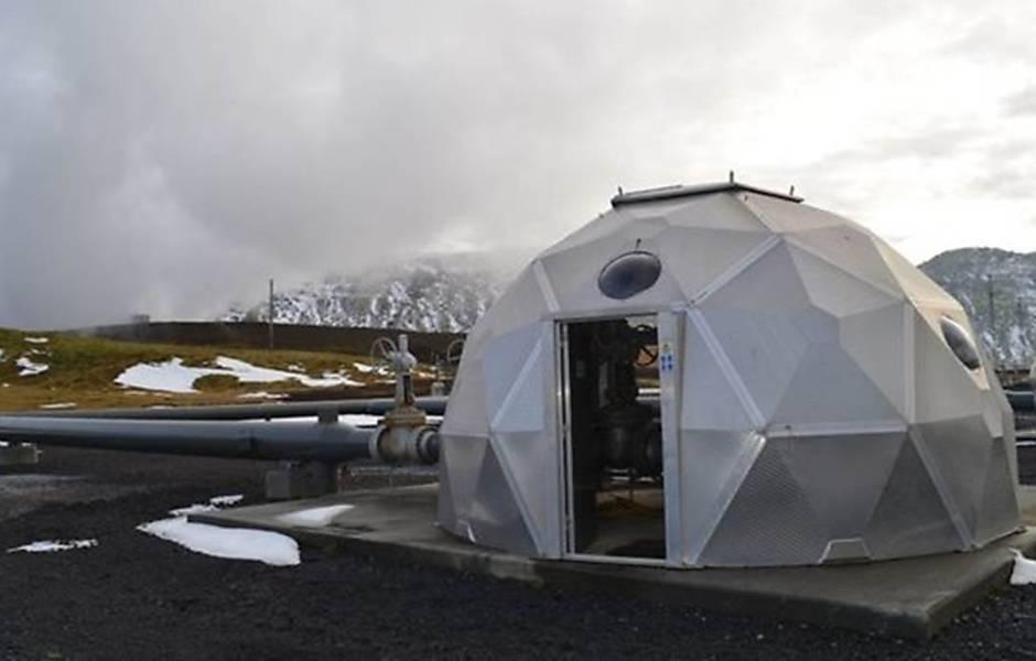 Cientistas transformar CO2 em pedra para conter gases estufa