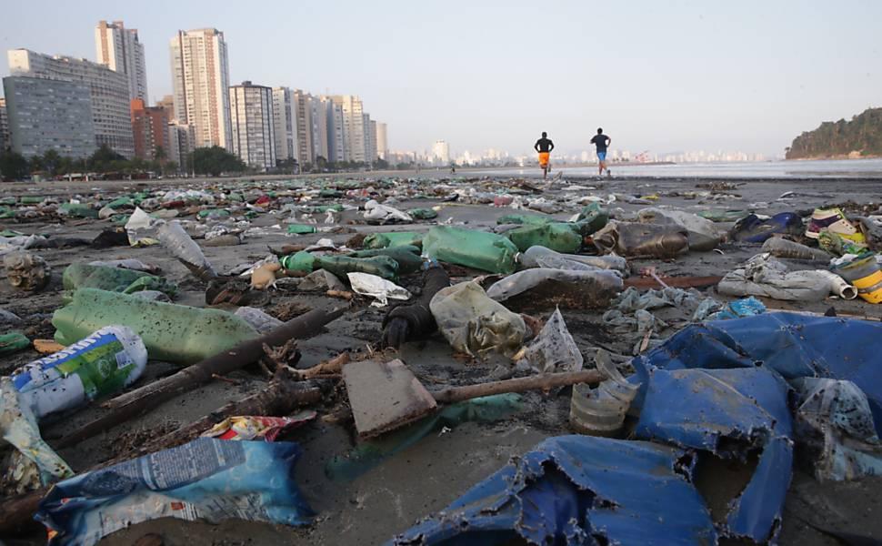 Lixo em São Vicente