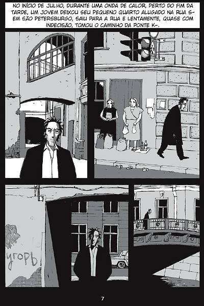 Crime e Castigo - graphic novel