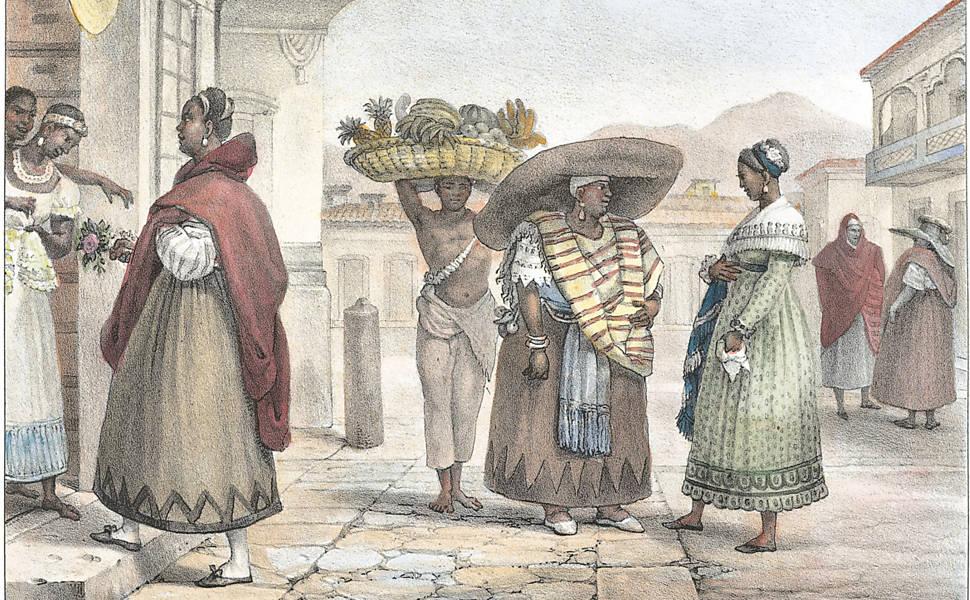 Veja ilustrações do livro 'Viagem Pitoresca e Histórica ao Brasil', de Jean-Baptiste Debret