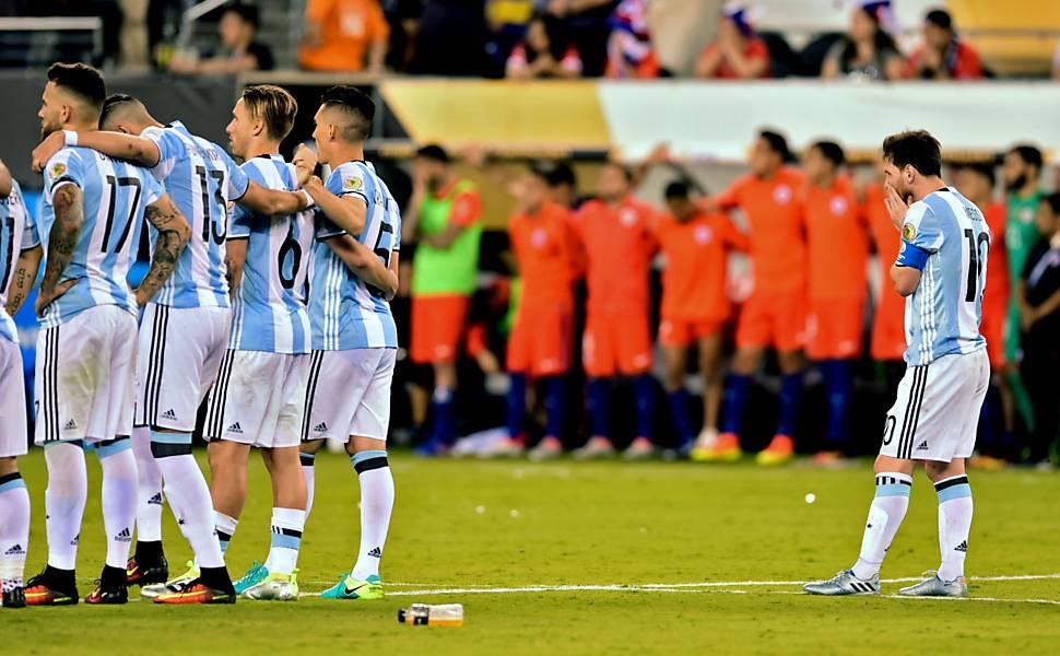 Final da Copa América Centenário entre Argentina e Chile