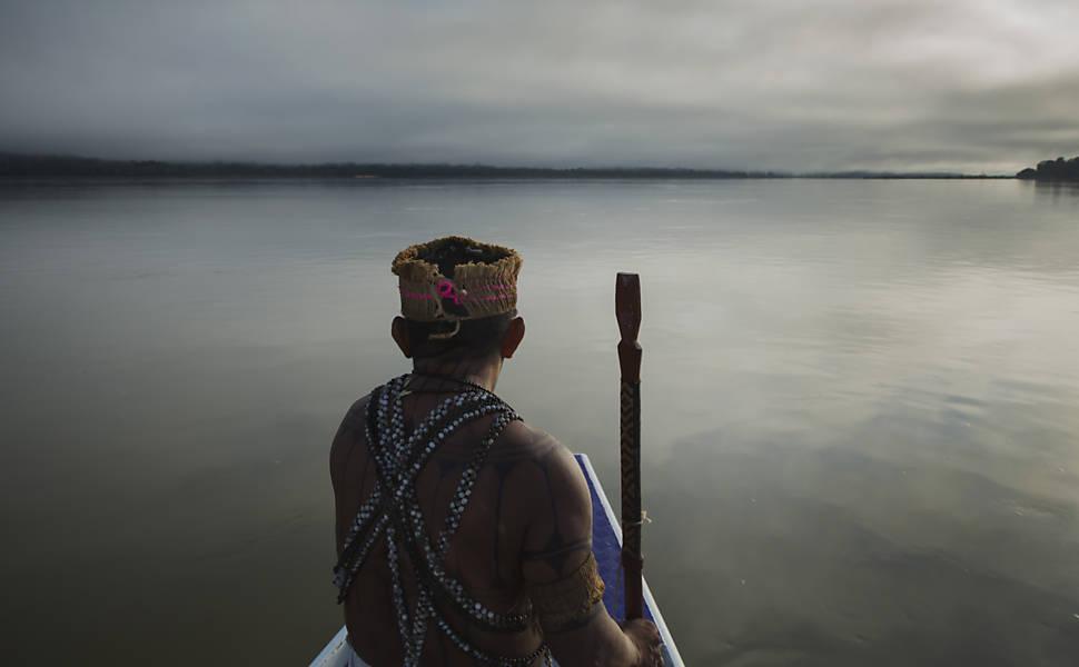 Índios contra a 'nova Belo Monte'
