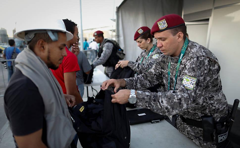 Força Nacional, responsável pela segurança da Olimpíada