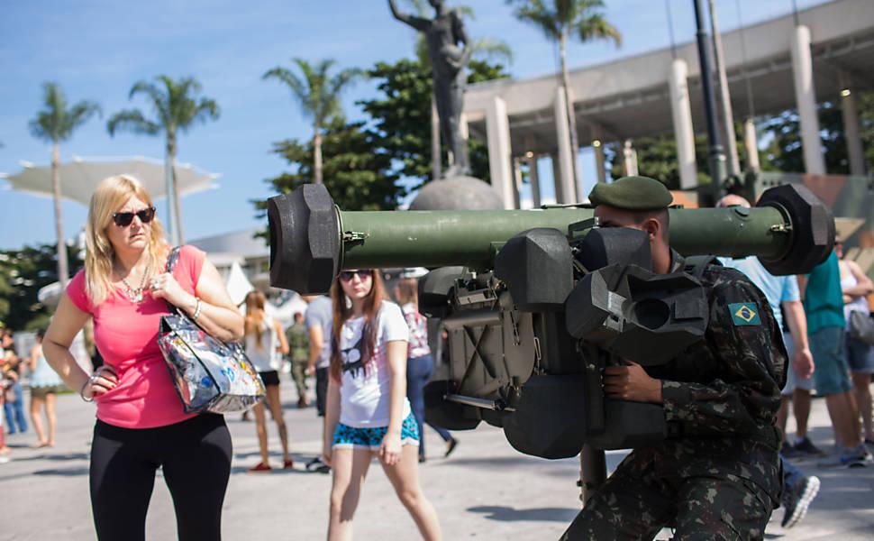 Treinamento Militar para as Olimpíadas