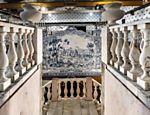 Prédio histórico da vinícola Dona Maria, onde a pisa das uvas é feita em câmaras de mármore