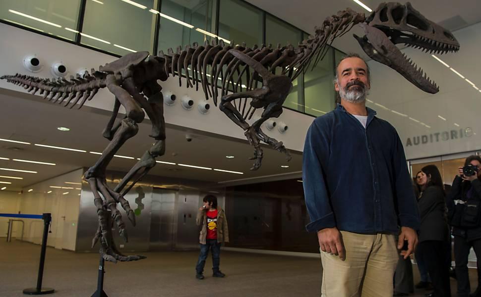 """""""Gualicho"""", novo dinossauro descoberto na Argentina"""