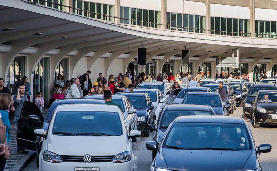 Congestionamento em Congonhas