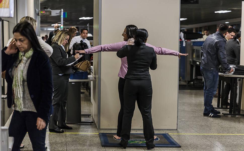 Novas regras nos aeroportos