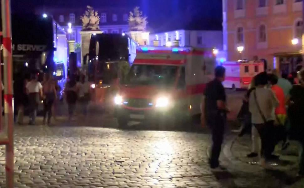 Explosão na Alemanha