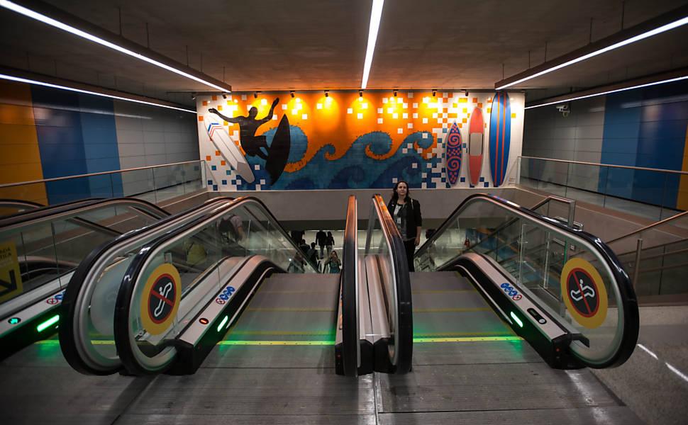 Linha 4 do metrô do Rio