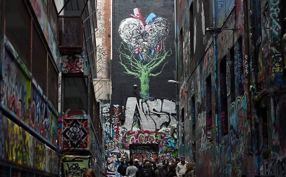 Grafite em Melbourne