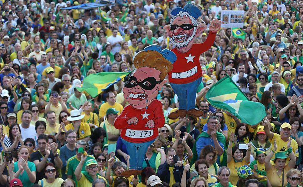 Protestos pelo Brasil