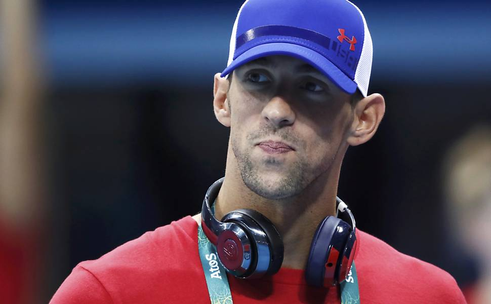 Michael Phelps no Rio