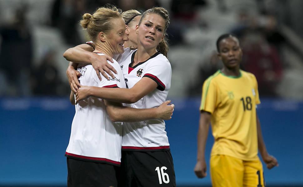 Alemanha x Zimbábue