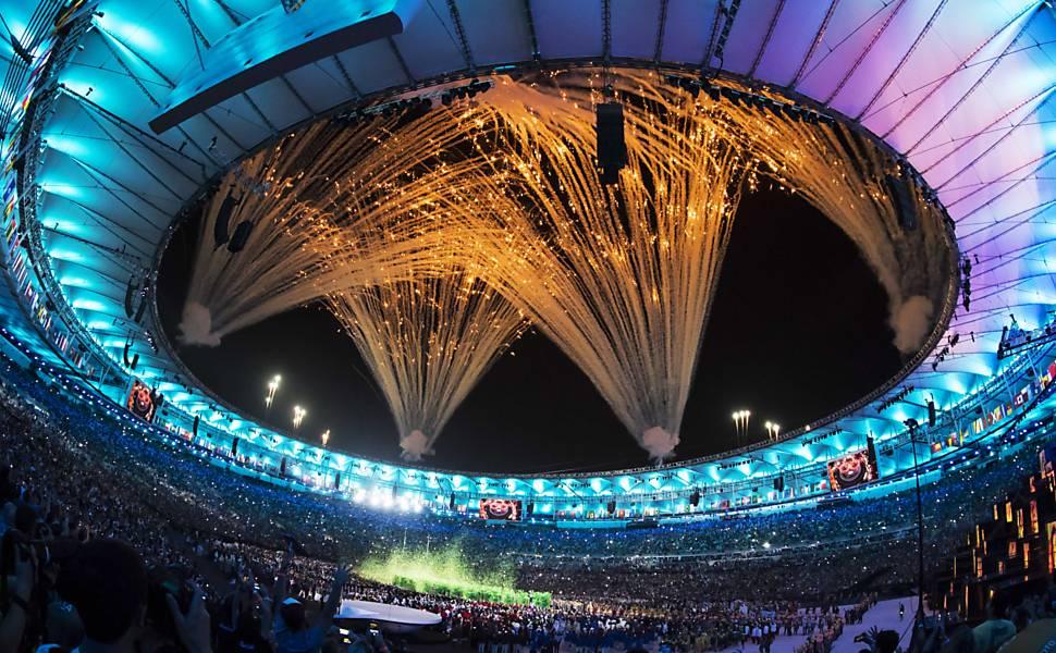 Abertura dos Jogos Ol�mpicos