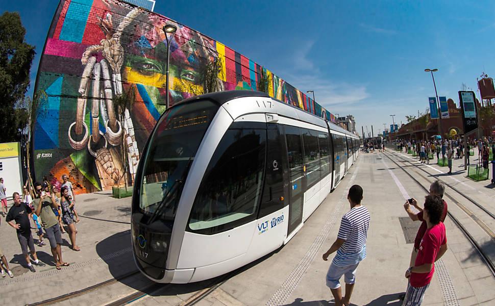 Transporte público ate o Parque Olímpico