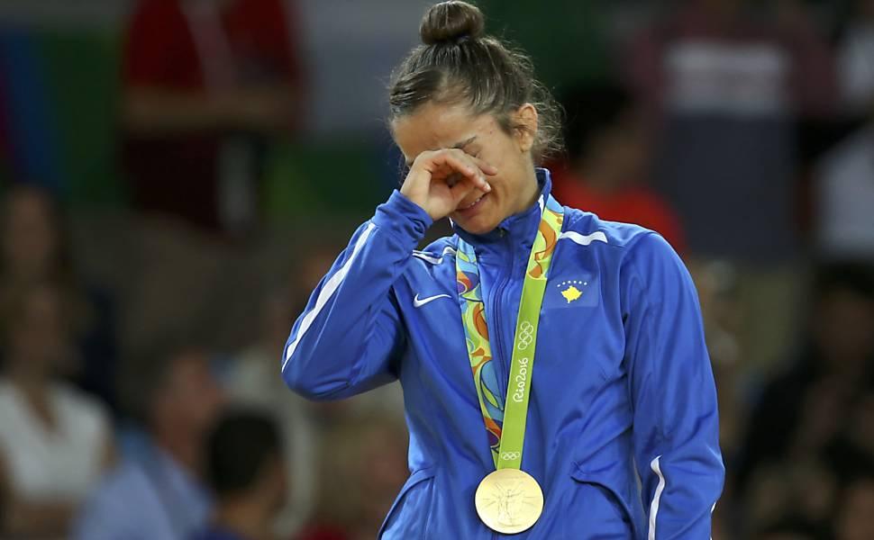 Mejlinda Kelmendi ganha primeira medalha da história do Kosovo