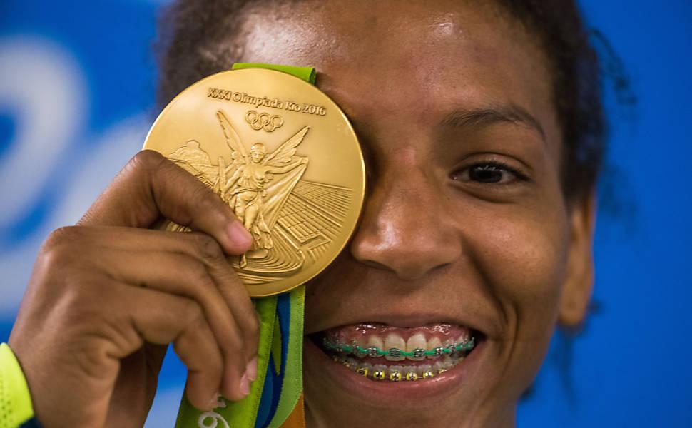 Rafaela Silva na Rio-2016