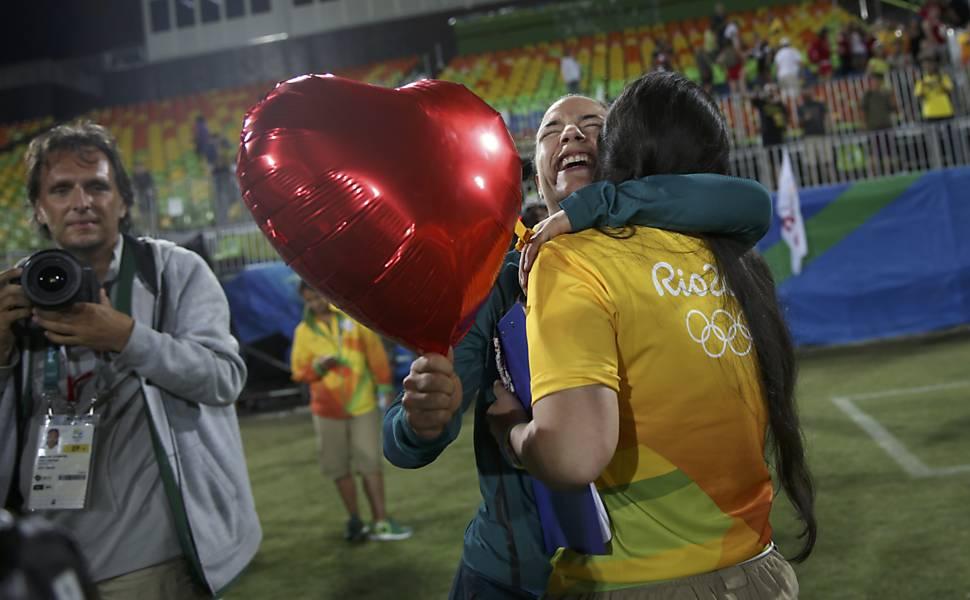Pedido de casamento no rúgbi da Rio-2016