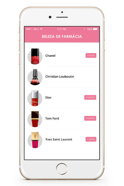App Beleza de Farmácia