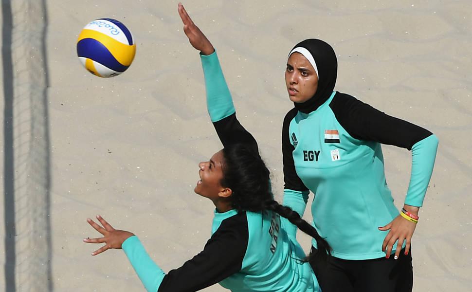 Atletas muçulmanas na Rio-2016