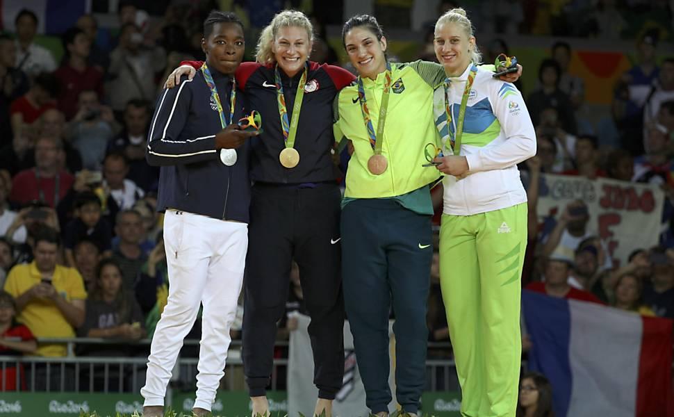 Mayra Aguiar na Rio-2016