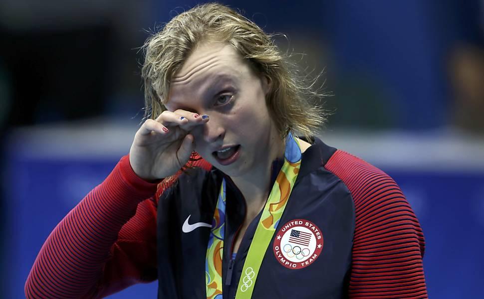 Katie Ledecky na Rio - 2016
