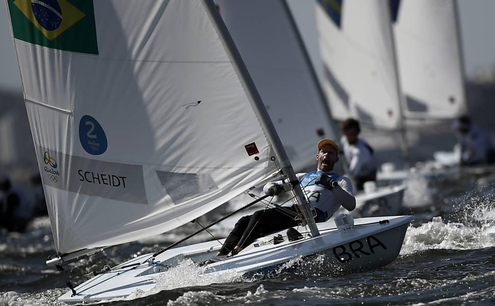 Robert Scheidt na Rio-2016