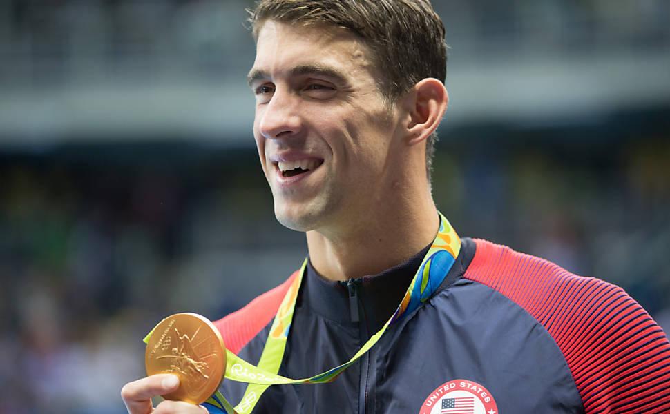 Michael Phelps na Rio-2016