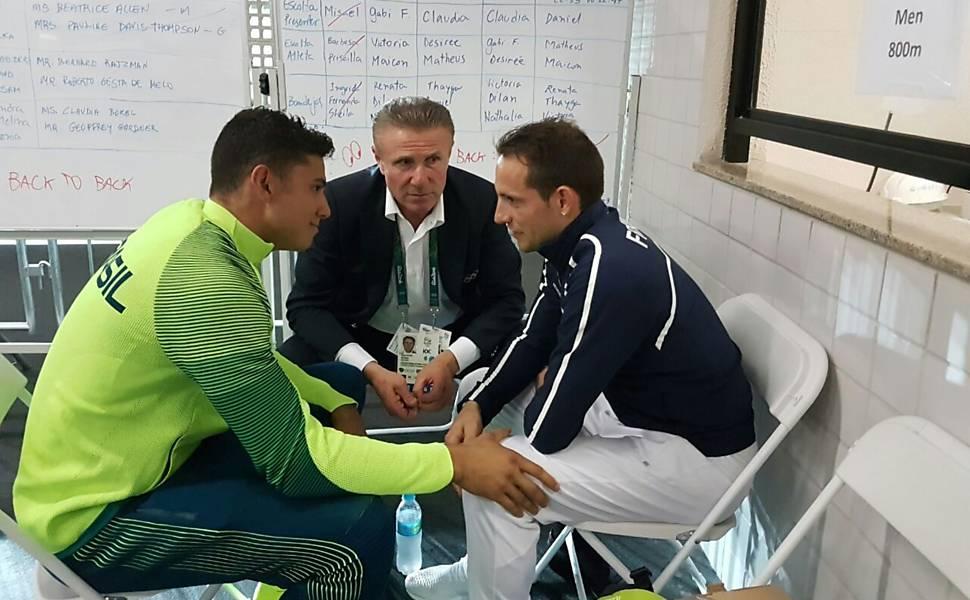 Thiago Braz na Rio-2016