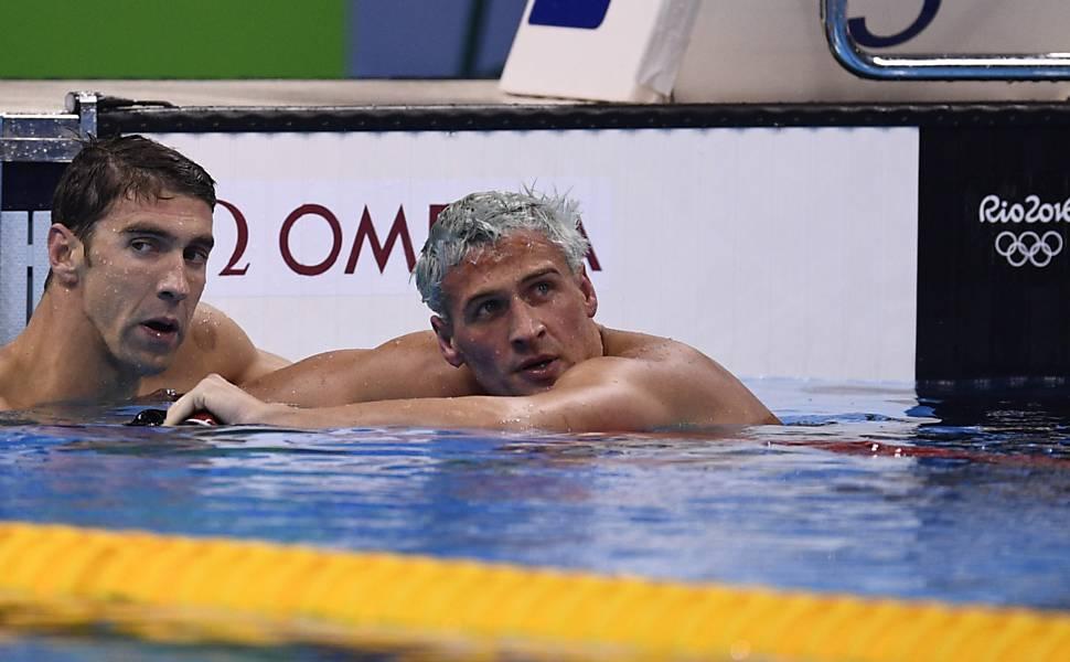 """Ryan Lochte na Rio-2016"""
