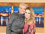 Sandy é a entrevistada de Xuxa no programa que marca o aniversário de um ano da apresentadora na Record