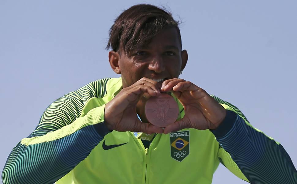 Isaquias Queiroz na Rio-2016