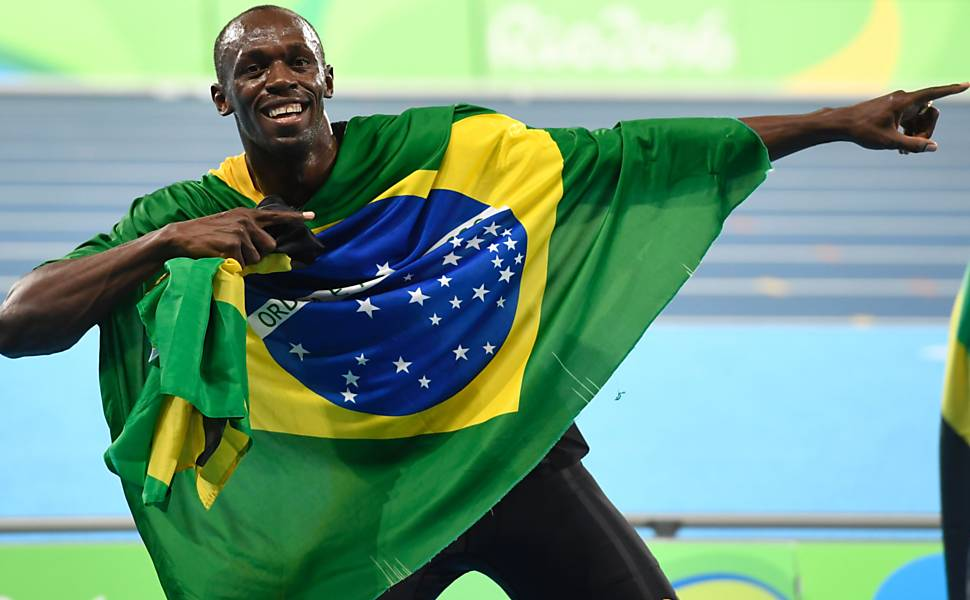 Usain Bolt na Olimpíada do Rio-2016