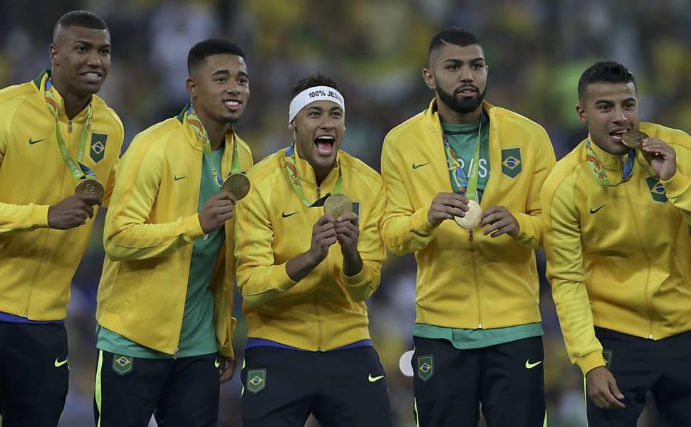 Futebol masculino: Brasil x Alemanha - Medalha de Ouro