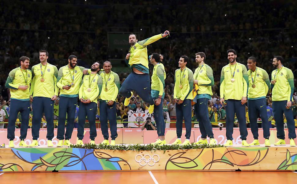 Vôlei masculino: Brasil x Itália - Medalha de Ouro