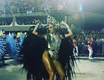 Thaila Ayala desfila pela Grande Rio no Carnaval 2016