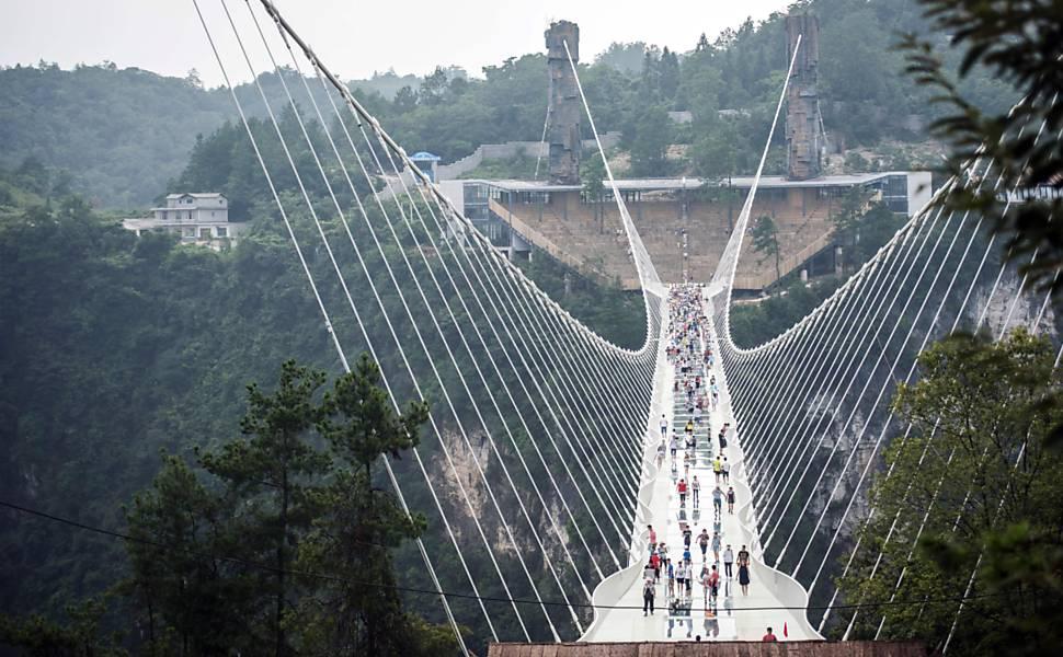 Ponte de Zhangjiajie, na China