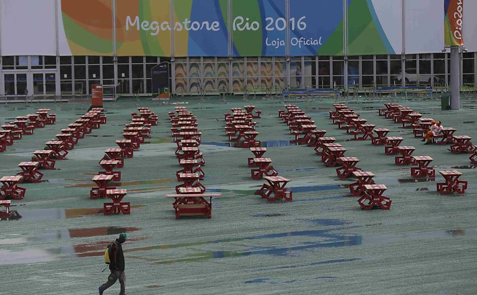 Parque Olímpico após a Rio-2016