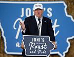 Trump discursa em evento em Des Moines, Iowa