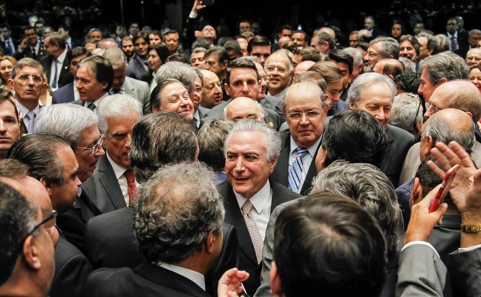Michel Temer � empossado presidente