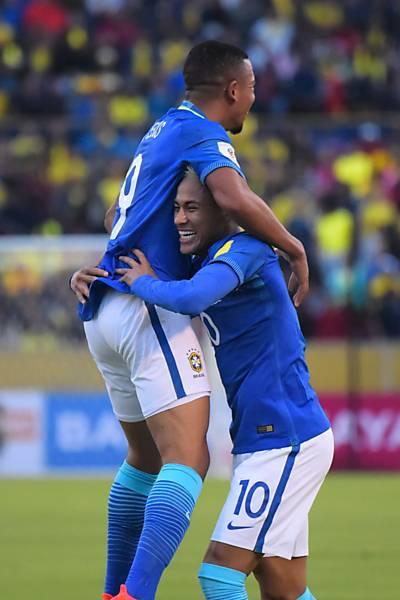 Equador x Brasil