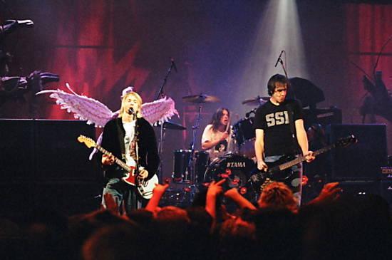 Veja imagens da banda Nirvana
